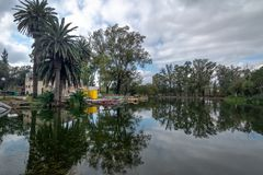 Sarmiento-Park - Cordoba, Argentinien lizenzfreie stockbilder