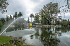 Sarmientopark - Cordoba, Argentinië royalty-vrije stock afbeelding