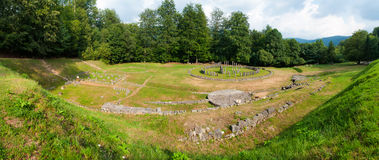 Sarmizegetusa Regia Panorama Stock Photo