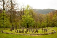 Sarmizegetusa Regia, Transylvania, Romania. Sarmizegetusa Regia - the capital of the Dacian kingdom, Romania Stock Images