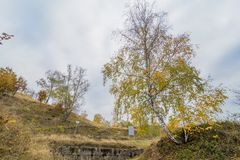 Costesti dacian fortress. Sarmizegetusa was the capital capital of the Dacian Empire. Today is a UNESCO World Heritage Site Royalty Free Stock Photography