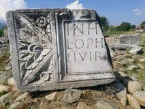 Sarmizegetuza ruiny Zdjęcie Royalty Free