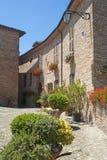 Sarnano (Macerata, Marches, Italy) Royalty Free Stock Image