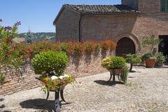 Sarnano (Macerata, Marches, Italy) - Old village Royalty Free Stock Photos