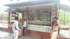 sarnath的瓦腊纳西一家商店 图库摄影