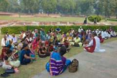 Sarnath, India - November 2011 Stock Afbeeldingen