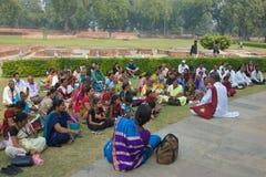 Sarnath, India - novembro 2011 Imagens de Stock