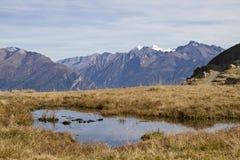 In Sarntal Alps Stock Photo