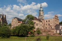 Sarny slottkomplex Arkivbilder