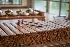 Saron, ein gamelan Musikinstrument Lizenzfreies Stockbild