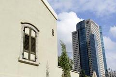 Sarona city architecture inTel-Aviv Royalty Free Stock Image