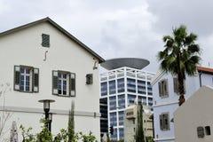 Sarona city architecture inTel-Aviv Royalty Free Stock Photo