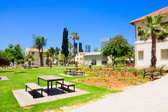Sarona Compound, Tel-Aviv Royalty Free Stock Image