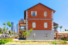 Sarona Compound, Tel-Aviv Royalty Free Stock Photo