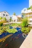 Sarona-Mittel, Tel Aviv Lizenzfreies Stockfoto