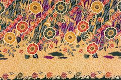 sarong индонезийца батика Стоковая Фотография