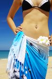 In sarong Stock Photography