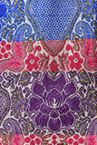 Sarong fabric background Stock Image
