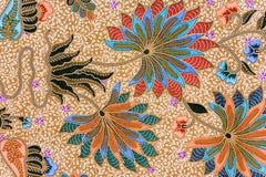 Sarong indonésien de batik Photographie stock libre de droits