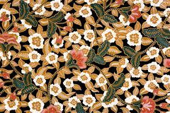 Sarong indonesiano del batik Immagine Stock Libera da Diritti