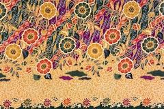 Sarong indonesio del batik Fotografía de archivo