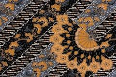 Sarong indonesio del batik Imagen de archivo libre de regalías