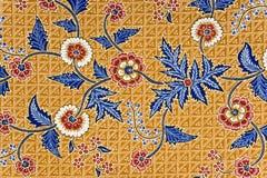 Sarong indonesio del batik Foto de archivo