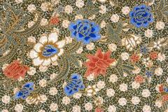 Sarong indonesio del batik Imagenes de archivo