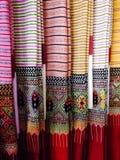 Sarong. Local cloth silk Stock Images