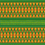 Sarong pattern background in Thailand Royalty Free Stock Photography