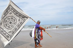 Male Sarong Seller Stock Images