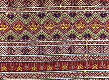 Sarong Teenjok  Northern Traditional Weaving in Thailand. Theme sarong Teenjok  Northern rTraditional Weaving in Thailand Stock Images