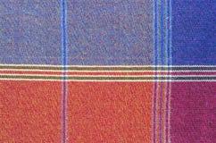 Saronggewebe für Musterhintergrund Stockfotografie