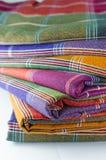 Saronggewebe für Musterhintergrund Stockbilder
