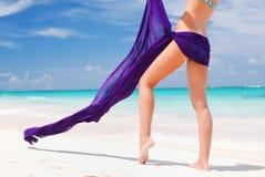 sarongkvinna Royaltyfria Bilder