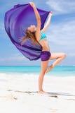sarongkvinna Royaltyfria Foton