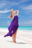 sarongkvinna Arkivfoton