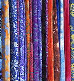 Sarongs Stock Foto
