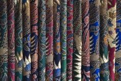 Sarongs del batik foto de archivo libre de regalías
