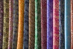 Sarongs del batik fotografie stock