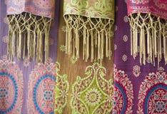 Sarongs del batik fotografía de archivo libre de regalías