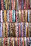 Sarongs del batik imagenes de archivo