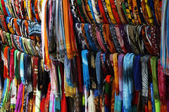 Sarongs For Sale Royalty Free Stock Images
