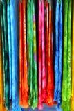 sarongu o zapakowanie w prezencie Obraz Stock