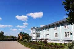 Sarov六翼天使在三位一体六翼天使Diveevo修道院里在Diveevo,俄罗斯 库存照片