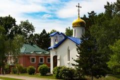 Sarov圣六翼天使寺庙  库存图片