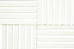 Sarrafo da madeira branca Imagem de Stock Royalty Free