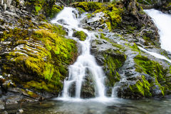 Sarrail Creek Falls Royalty Free Stock Image