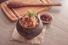 Sarrasin friable avec du beurre, nourriture saine Photo libre de droits