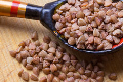 sarrasin Nourriture saine, savoureuse, et très saine Photo stock